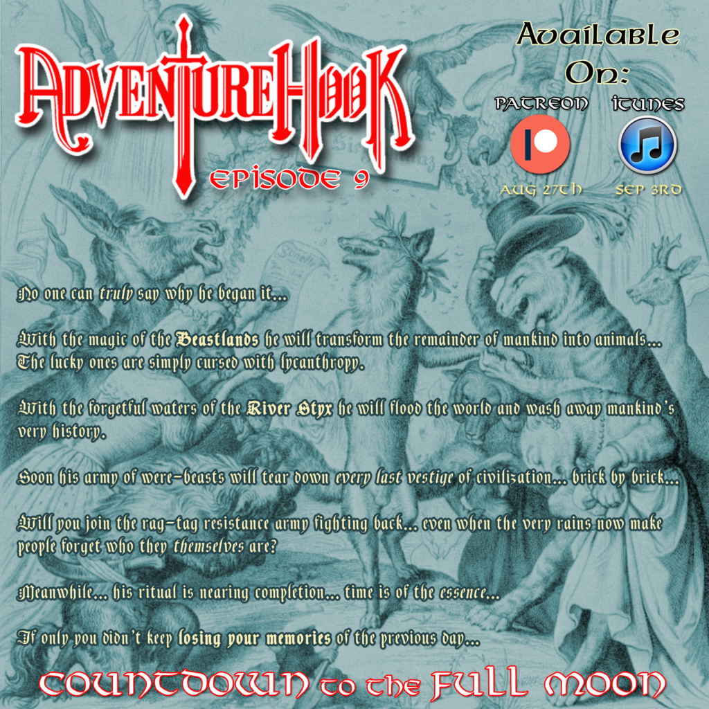 Episode 9: Countdown to the Full Moon – Adventure Hook